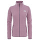 """The North Face W's 100 Glacier FZ Jacket Black Plum Stripe"""